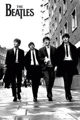 The Beatles In London Music Rock Pop Maxi Poster Print 61x91.5cm | 24x36 inches