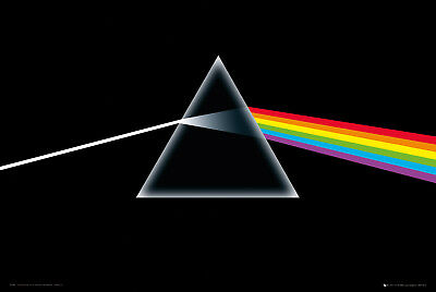 Pink Floyd Dark Side of the Moon Music Prog Rock Maxi Poster Print 61x91.5cm