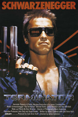 The Terminator One Sheet Film Action 80s Maxi Poster Print 61x91.5cm | 24x36 in