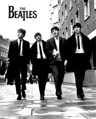 The Beatles In London Music Rock Pop Mini Poster Print 40x50cm | 16x20 inches