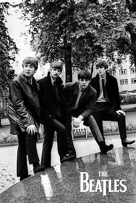 The Beatles Pose Music Rock Pop Maxi Poster Print 61x91.5cm | 24x36 inches