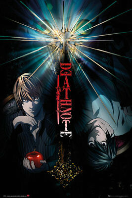 Death Note Duo Anime Maxi Poster Print 61x91.5cm | 24x36 inches