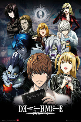 Death Note Collage Anime Maxi Poster Print 61x91.5cm | 24x36 inches