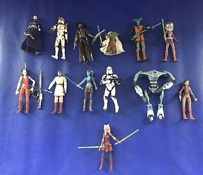 "Star wars figures Clone Wars 3.75""    ~CHOOSE FROM LIST~     REDUCED!"