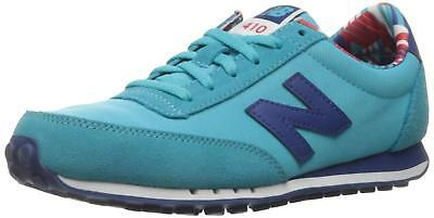 New Balance Womens wl410 Sneaker, Red/Atlantic, 7 B US