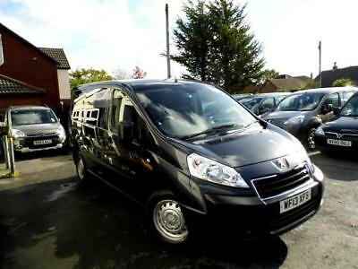 Peugeot Expert wav wheelchair accessible vehicle disabled access car