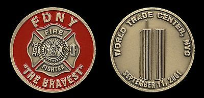 Challenge Coin - FDNY 9/11 - New York City Fire Department - WTC