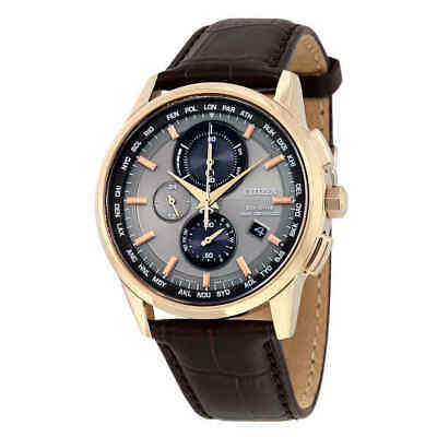 Citizen Eco-Drive World Chronograph A-T Men's Watch AT8113-04H