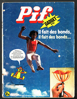 -°- PIF GADGET n°303 -°- 12/1974 -°- TEDDY TED / UNIVERZOO