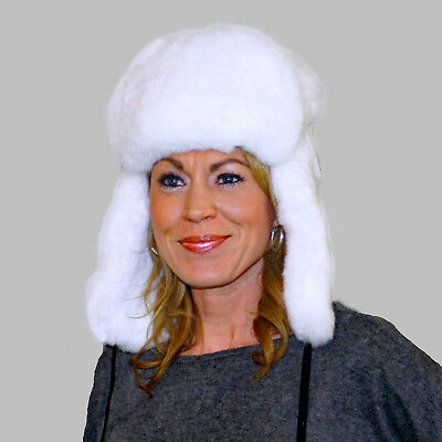 d7c0d5fb7b4c5 GLACIER WEAR SKUNK Fur Russian Trooper Hat hts1041 -  309.95