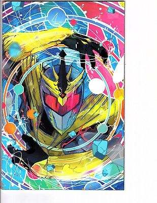 Mighty Morphin Power Rangers Shattered Grid #1 1:25 Ward Variant MMPR Boom