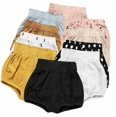 Baby Girl DIAPER COVERS Linen  Bloomers PP Pants Shorts Briefs Trousers Bottom