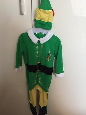 Baby Christmas Elf Outfit Age 9-12 Months