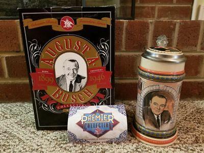 Anheuser Busch Founders Series AUGUST A BUSCH JR Limited Edition Beer Stein