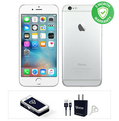 Apple iPhone 6 Plus 128GB Silver  Fully Unlocked