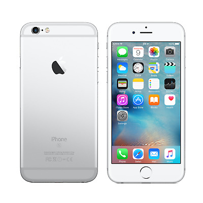 Apple iPhone 6s 16GB Silver Unlocked Good Condition