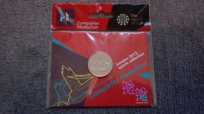 London 2012 Olympic Sports Collection Completer Medallion RARE