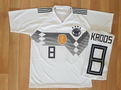 Trikot Toni Kroos 8 T-shirt Deutschland Madrid Germany WM EM !! TOP !! NEU !!