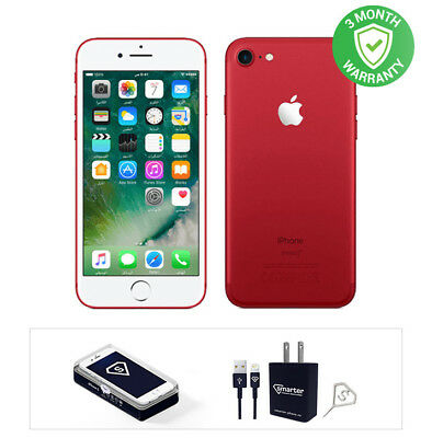 Apple iPhone 7 - 128GB - RED - Fully Unlocked - Good Condition