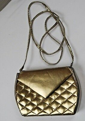 Picard Handtasche Abend Tasche Party  gold bronze metallic Vintage