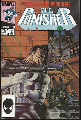 Punisher  #2  Fplus To Nm  Limited  Of 5