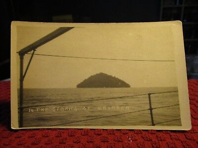 Rppc Early 1900's. In The Straits Of Malakka. Postcard.