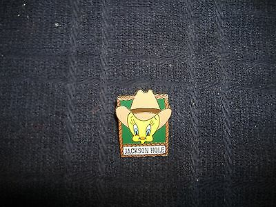 Warner Bros Tweety Bird Looney Tunes Enameled Pin Pinback -hat pin