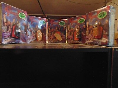 The Addams Family promotional movie cereal figures