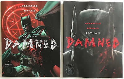 BATMAN DAMNED #1 UNCENSORED set w/regular Bermejo & Jim Lee Variant Covers