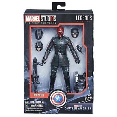 Red Skull Actionfigur Marvel Legends Cinematic Universe 10th Anniversary