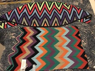 Bugaboo Missoni Blanket And Custom Made Donkey Hood