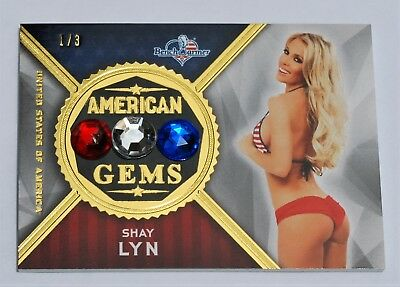 SHAY LYN America The Beautiful ~American Gems~ GOLD FOIL Insert # 1/3 + Pack