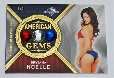 BRYIANA NOELLE America The Beautiful ~American Gems~ GOLD FOIL 1/3 + Free Pack