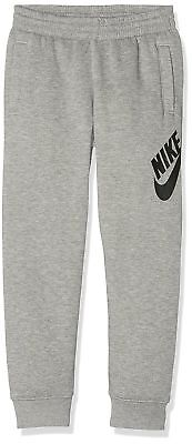 NIKE SB Boys Kids Fleece Tracksuit Joggers Only Grey 3-4 TO 6-7