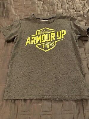 Under Armour Boys Tshit 3T Gray