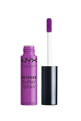 NYX Intense Butter Gloss - 0.27oz/8ml - IBLG02 Berry Strudel