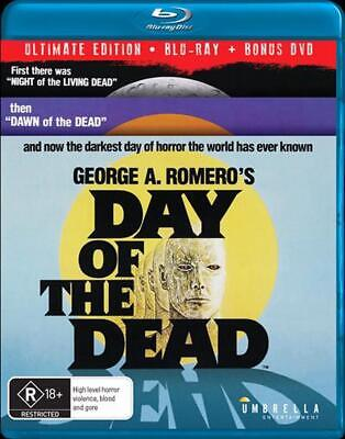 Day Of The Dead: Ultimate Edition | Blu-ray + DVD - Blu Ray Region ALL Free Ship
