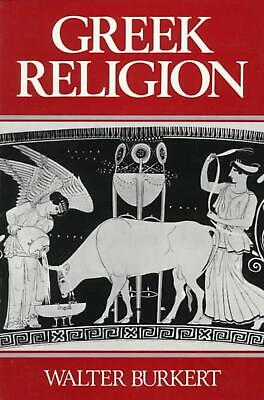 Greek Religion by Walter Burkert (German) Paperback Book Free Shipping!