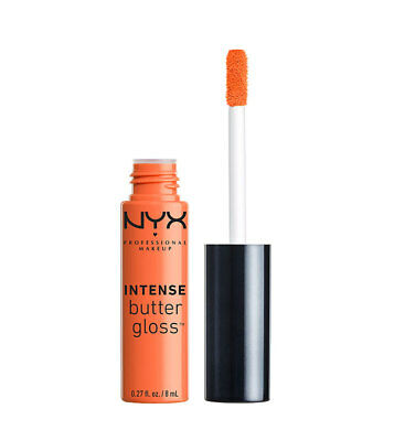 NYX Intense Butter Gloss - 0.27oz/8ml - IBLG07 Banana Split