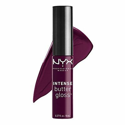 NYX Intense Butter Gloss - 0.27oz/8ml - IBLG10 Black Cherry