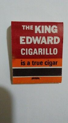 king edwards cigar match book