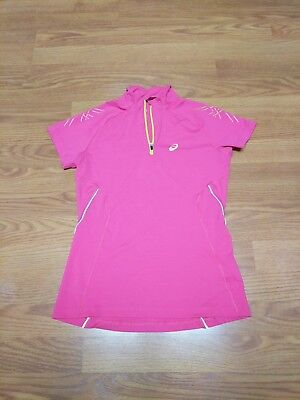 a92b9e36 ASICS WOMEN'S FUJITRAIL Long Sleeve 1/2 Zip Top Magenta Large ...