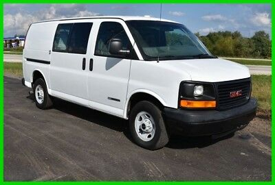 2004 GMC Savana Cargo Van with Storage, Toolboxes and Bulkhead LOW RESERVE!