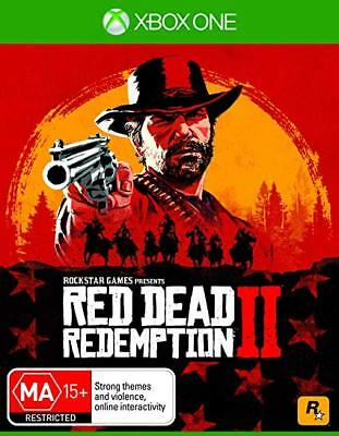 Red Dead Redemption 2 II XBOX ONE BRAND NEW Cheapest