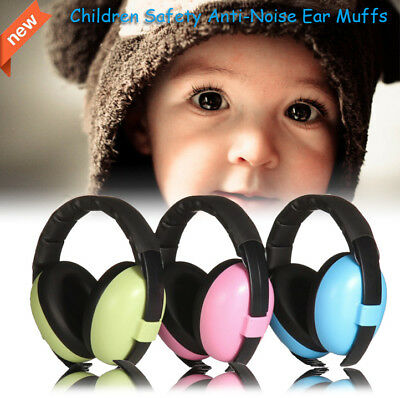 Hearing Protection Headphones Anti-Noise Earmuffs Children Safety Ear Muff
