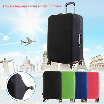 """18""""~30"""" Elastic Travel Luggage Skin Cover Suitcase Dustproof Cover Protector New"""