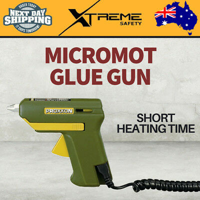 New PROXXON Micromot Glue Gun HKP220 with 4 Glue Sticks and 3 Metal Nozzles