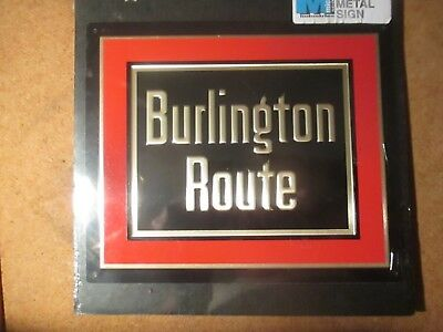 Railroad Sign Burlington Lines New by Micro Scale