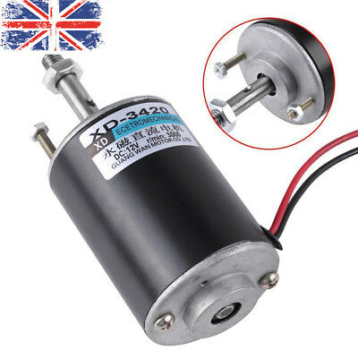 12V/24V 30W Permanent Magnet DC Electric Motor High Speed CW/CCW Generator