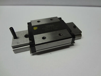 "THK RSR 12W linear ball bearing rail CNC slide guide 20mm 0.8"" stroke IKO NSK"
